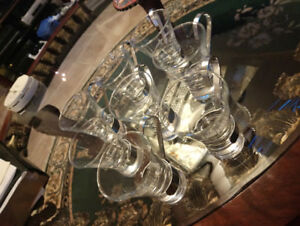 True Vintage - 8 Very Famous Hot China Martini (Calda) glasses