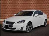 2012 62 Lexus IS 250 2.5 Advance 4dr (White, Petrol)
