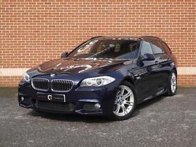 2012 12 BMW 5 Series 2.0 520d M Sport Touring 5dr (Blue, Diesel)