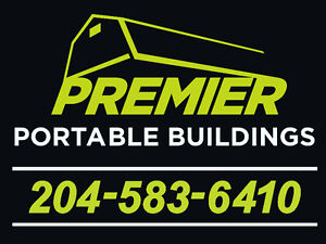 STORAGE -PREMIER_PORTABLE_ BUILDINGS/ BUY OR RENT TO OWN!