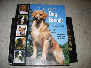 Encyclopedia of Dog Breeds Hard Cover Book