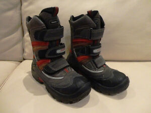 Premium Brand Geox Tex Brand Youth Boys Snow Boots -Great Shape