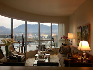 Coal Harbour Ocean/Mountain View
