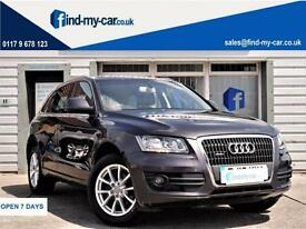 2012 12 Audi Q5 2.0 TDI 143 SE Quattro TEL | BLACK LEATHER | FSH