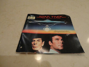Vintage Star Trek 33 1/3 rpm Record w/ 24 page Read Along Book Kitchener / Waterloo Kitchener Area image 1