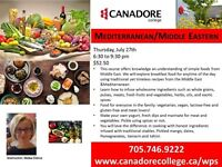 Cooking Class: Mediterranean/Middle Eastern, Parry Sound