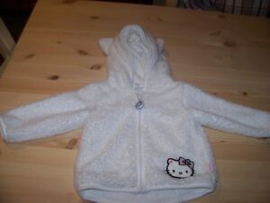 Baby Fuzzy Sweater With  Hood