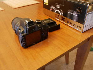 Nikon D3100 with 18-55mm VR Zoom Lens