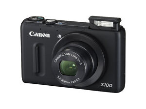 Canon s100 full manual pocket camera