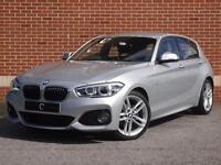 2016 66 BMW 1 Series 1.5 116d M Sport Sports Hatch Auto (Silver, Diesel)