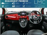 2018 Fiat 500 1.2 LOUNGE DUALOGIC 3d AUTO 69 BHP Hatchback Petrol Automatic
