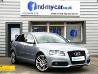 2012 12 Audi A3 2.0 TDI 140 Sportback S Line HEATED SEATS | HALF LEATHER