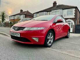 image for 2009 HONDA CIVIC 5DOORS-SI 1.4,TWO OWNERS,LEATHER INTERIOR,ALLOYS,MOT 26-10-2021