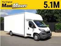 "Peugeot Boxer MAXI MOVER 5.1M (16FT 8"") 2.5M ROOF LIGHTWEIGHT LOW LOADER VAN"