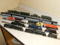 Vintage HO Train Layout - will sell pieces now too.