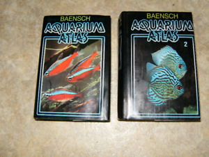 Two Books and Three Aquariums For Sale