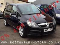 2007 VAUXHALL ZAFIRA 1.6i Energy 2YRS FREE CREDIT OFFER