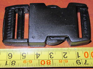 """150 sets of 1""""(25.4mm) plastic side release strap clips/ buckles"""