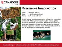 Introduction to Beekeeping, Parry Sound, Canadore College