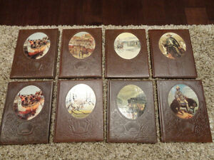"Time Life Faux Leather Bound ""The Old West Series"" 7 Volumes"