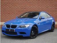 2013 13 BMW M3 4.0 V8 M3 Limited Edition Coupe 2dr (Santarini Blue, Petrol)