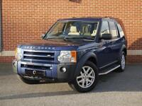 2007 57 Land Rover Discovery 3 2.7 TD V6 XS 5dr (Blue, Diesel)