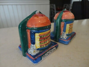 Vintage 1970's Pottery Salt & Pepper Shakers in a Juke Box Theme Kitchener / Waterloo Kitchener Area image 6