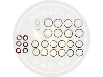 Fuel washer seal kit fuel pipe for Volvo Penta 2003 2003AG 2003B 2003BG 2003T