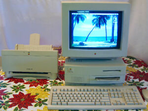 Vintage Apple Macintosh Centris 650, perfect working condition