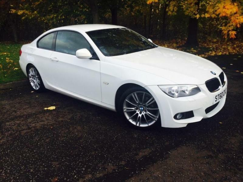 2010 bmw 3 series 2 0 320i m sport coupe 2dr petrol manual 154 g km 170 in hyndland glasgow. Black Bedroom Furniture Sets. Home Design Ideas