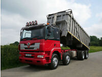 FODEN ALPHA 3000 8 X 4 Bulk Alloy Body Tipper