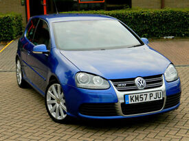 2008 57 Reg VW GOLF R32 3.2 V6 4MOTION DSG 3dr