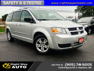 2010 Dodge Grand Caravan SE | MINT | SAFETY & E-TESTED