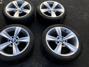 "Roue BMW #287 18"" avec Nokian"