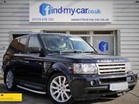 2007 57 Land Rover Range Rover Sport 3.6 TDV8 HSE Auto Buckingham Blue / Ivory