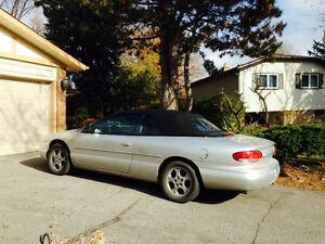 2000 Chrysler Sebring Convertible -  Limited Edition SJ1