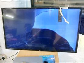 Tv - Broken Screen 49 Inch LG ( 49UH610V ) ULTRA HD 4K SMART TV with R