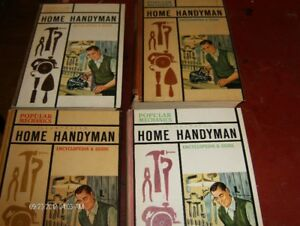 4 Hard Cover Woodworking Books