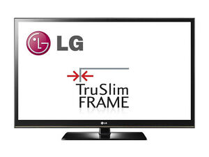 Used LG 50-Inch HD TV TrueSlim Frame in excellent condition