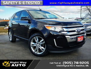 2013 Ford Edge Limited | AWD | NAV | SAFETY CERTIFIED