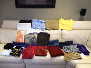 Large Amount Fabric for sale - Quilts, Dresses, Scarves & Crafts Kitchener / Waterloo Kitchener Area image 2