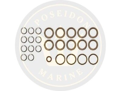 Fuel washer seal kit fuel pipe for Volvo Penta AD30A AQAD30A MD30A TAMD30A TMD30