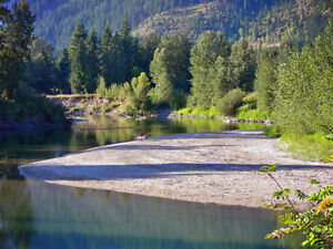 RV Camping Lot for Rent or Sale, Beautiful Sicamous BC