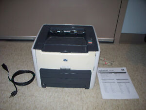 HP Laserjet 1320 Laser Printer with new Toner Cartridge