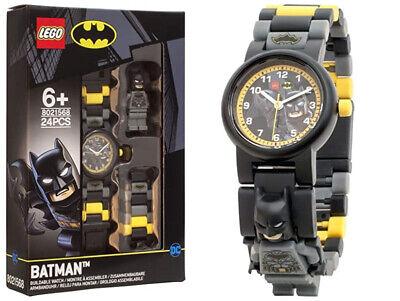 Lego Batman Childrens Buildable Minifigure Link Watch
