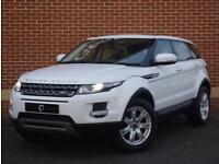 2013 13 Land Rover Range Rover Evoque 2.2 SD4 Pure Tech AWD (White, Diesel)