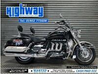 2010 Triumph Rocket III 2300cc Touring Stunning Condition Cruiser Motorcycle