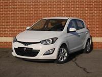 2014 14 Hyundai i20 1.2 Active 5dr (White, Petrol)