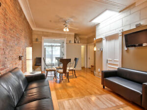 3 bedrooms in the heart of the Plateau