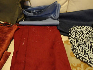 Large Amount Fabric for sale - Quilts, Dresses, Scarves & Crafts Kitchener / Waterloo Kitchener Area image 9